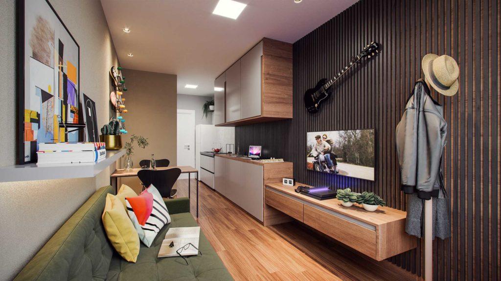 4 benefícios de morar em um Studio